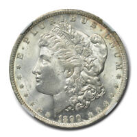 1890-O HOT-50 MORGAN DOLLAR VAM-10A COMET & GOUGE S$1 NGC MINT STATE 63 CAC