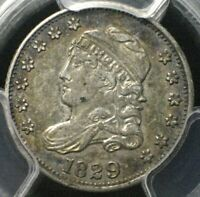 1829 CAPPED BUST HALF DIME  PCGS EXTRA FINE 45  NO PROBLEMS HERE