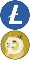 SOLO LITECOIN LTC AND DOGE MINING CONTRACT 24H MINER LOTTERY LOTTO - NOT BITCOIN