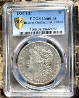 PCGS 1889-CC AU DETAILS COINS FOR COMIC SALE OR BUY ALMOST UNC