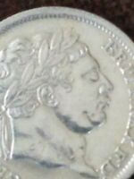 1816 GREAT BRITAIN SILVER SHILLING KING GEORGE III