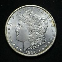 1880 MORGAN SILVER DOLLAR BU CN8751
