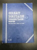 GREAT BRITAIN THREEPENCE SILVER COLLECTION 1902 TO 1945