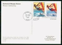 MAYFAIRSTAMPS US FDC FDC 1996 MAXIMUM CARD OLYMPICS WOMEN'S