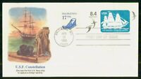 MAYFAIRSTAMPS US FDC 1988 US FRIGATE CONSTELLATION FIRST DAY