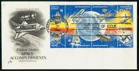 MAYFAIRSTAMPS US FDC 1981 SHUTLE COMBO BENEFITING MANKIND FI