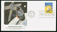MAYFAIRSTAMPS US FDC 1981 SKYLAB AND SUN FIRST DAY COVER WWM