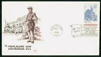 MAYFAIRSTAMPS US FDC 1988 MA CHURCH DRUMMER BOY FIRST DAY CO