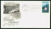 MAYFAIRSTAMPS US FDC 1977 CO CENTENNIAL MOUNTAINS FIRST DAY