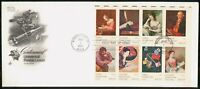 MAYFAIRSTAMPS US FDC FDC 1974 COVER UPU LETTER BLOCK OF 8 WW