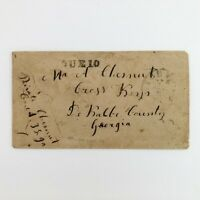 1800S RICHMOND STAMPLESS COVER PRIVATE CHESNUT CO A 38 GA