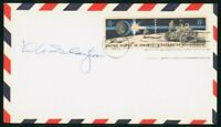 MAYFAIRSTAMPS US FDC 1971 SLAYTER AUTOGRAPHED SPACE ACHIEVME