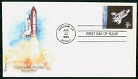 MAYFAIRSTAMPS US FDC 1995 CHALLENGER SHUTTLE IN ORBIT FIRST