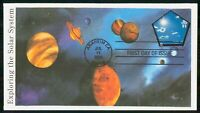 MAYFAIRSTAMPS US FDC 2000 PLANETS EXPLORING SOLAR SYSTEM FIR