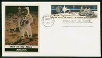 MAYFAIRSTAMPS US FDC FDC 1971 COVER FIRST MAN ON THE MOON PA