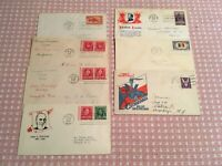 1940'S FDC: LINCOLN WIN THE WAR BELGIUM WHITTIER IRVING SOUS