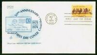MAYFAIRSTAMPS US FDC 1974 HORSE RACING 1ST DAY COVER SOCIETY