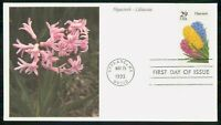 MAYFAIRSTAMPS US FDC 1993 HYACINTH LILIACEAE FIRST DAY COVER