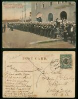 MAYFAIRSTAMPS CANAL ZONE 1910 CRISTOBAL BLUE JACKELS OFF THE