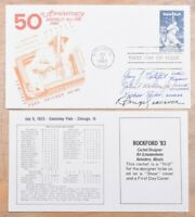 MAYFAIRSTAMPS US FDC 1983 BASEBALL AUTOGRAPHS ON BABE RUTH F
