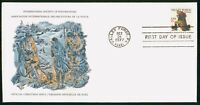 MAYFAIRSTAMPS US FDC 1977 WASHINGTON AT VALLEY FORGE FIRST D