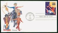 MAYFAIRSTAMPS US FDC 1993 CIRCUS TRAPEZE ARTIST FIRST DAY CO