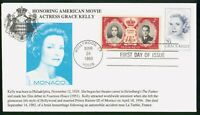 MAYFAIRSTAMPS US FDC 1993 GRACE KELLY ACTRESS PRINCESS FIRST