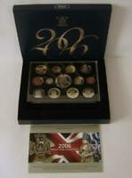 A ROYAL MINT 2006 UNITED KINGDOM THIRTEEN COIN DELUXE PROOF