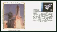 MAYFAIRSTAMPS US SPACE 1995 COLORANO SILK POSTAGE STAMP MEDI