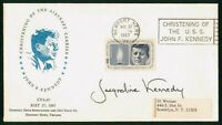 MAYFAIRSTAMPS US 1967 JACQUELINE KENNEDY SIGNED CHRISTENING