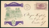 MAYFAIRSTAMPS US FDC 1935 CONNECTICUT TERCENTENARY WT RALEY