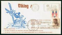 MAYFAIRSTAMPS US SPACE COVER 1976 VIKING 1 DETERMINE WHERE L