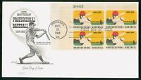 MAYFAIRSTAMPS US FDC 1969 100TH ANNIVERSARY PROFESSIONAL BAS