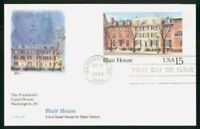 MAYFAIRSTAMPS US FDC 1988 BLAIR HOUSE PRESIDENTS GUEST HOUSE
