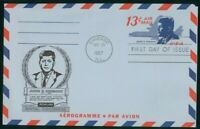 MAYFAIRSTAMPS US FDC 1967 JOHN F KENNEDY ARISTOCRATS STATION