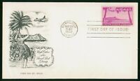 MAYFAIRSTAMPS US FDC 1952 HIGH VALUE AIR PARCEL POST AVIATIO