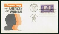 MAYFAIRSTAMPS US FDC 1960 HONORING THE AMERICAN WOMAN EVENT