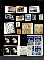 $91.50 IN MNH $1.00 AND UP US POSTAGE