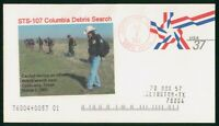 MAYFAIRSTAMPS US SPACE 2003 STS 107 COLUMBIA DEBRIS SEARCH C