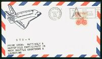 MAYFAIRSTAMPS US SPACE FLORIDA 1982 STS 4 MOCK SHUTTLE COUNT