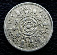 GREAT BRITAIN 2 TWO SHILLINGS 1962
