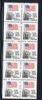 FLAG AND SUPREME COURT BOOKLET PANE OF 10 STAMPS SCOTT 1896B