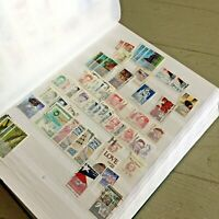 US STAMPS HUGE STOCK BOOK LOADED W/STAMPS 13C 39C USED UNUSE