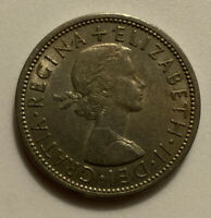 1967 GREAT BRITAIN FLORIN TWO SHILLINGS COIN