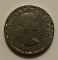 1963 GREAT BRITIAN FLORIN TWO SCHILLINGS COIN