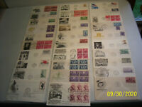 30 MIXED ASSORTED CACHETED ADDRESSED UNITED STATES FIRST DAY