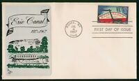 MAYFAIRSTAMPS US FDC SEALED 1967 ERIE CANAL FIRST DAY COVER