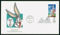 MAYFAIRSTAMPS US FDC 1997 BUGS BUNNY WITH CARROT FIRST DAY C