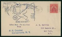 MAYFAIRSTAMPS US FDC SEALED 1929 SULLIVAN EXPEDITION FIRST D