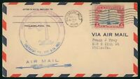 MAYFAIRSTAMPS US FIRST FLIGHT COVER 1929 BALTIMORE C11 AIRCR